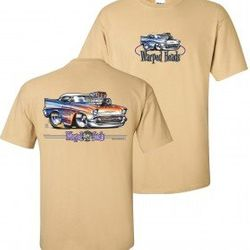 Wholesale Men's Women's Chevrolet American Muscle Car T Shirts Bulk Suppliers - WH_110-57-Chevy