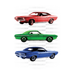 Wholesale Men's Women's Dodge Challenger 1970 Car T Shirts Bulk Suppliers - 21537D2