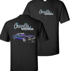 Wholesale Men's Women's Muscle Car T Shirts Bulk Suppliers - 1969-Chevelle-non-flame