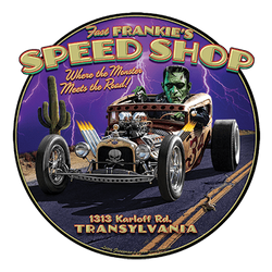 Wholesale US Men's Muscle Car Speed Shop Gildan T Shirts Bulk Suppliers - 21506HD2