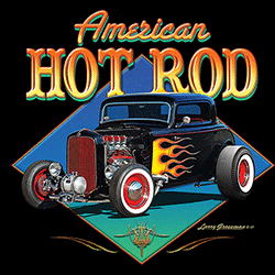 T Shirts Gildan Muscle Car Wholesale Clothing and Apparel Drop Shipping - Hot Rod T Shirts - 21643HD4