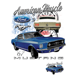Wholesale Bulk Suppliers Clothing USA - Drop Shipping - American Ford Mustang Muscle Car T Shirts Bulk Suppliers - 21278D1