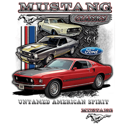 Wholesale Men's Women's Youth Muscle Car T Shirts Bulk Suppliers - 21286D1