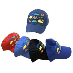 Party Toys Wholesale Hats Merchandise Suppliers - HT5109. Boys Printed Ball Cap [Cars]