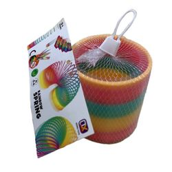 Party Toys Wholesale Merchandise Suppliers - TY719. 3.5 Magic Spring Toy [Rainbow]