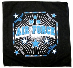Wholesale Military Bandanas Hats - B Air Force black. Military Bandana