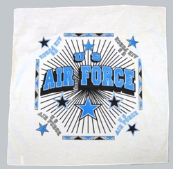 Wholesale Military Bandanas Hats - B Air Force white. Military Bandana