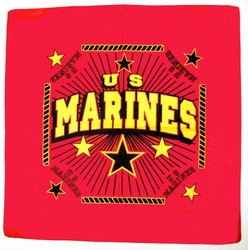 Wholesale Military Bandanas Hats - B Marines red. Military Bandana