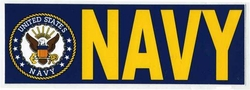 Wholesale Military Bumper Stickers - BDCL Navy. Military Decal