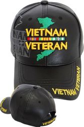 Wholesale Leather Military Hats and Caps - Vietnam Map