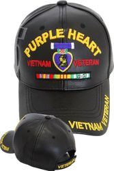 Wholesale Leather Military Hats and Caps - Vietnam Purple Heart