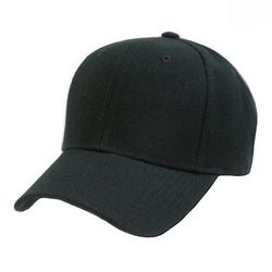 Wholesale Clothing, Best Selling Blank Wholesale Military Hats Bulk Suppliers - Solid Black Ball Cap