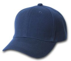 Wholesale Clothing, Best Selling Blank Wholesale Military Hats Bulk Suppliers - Solid Navy Ball Cap