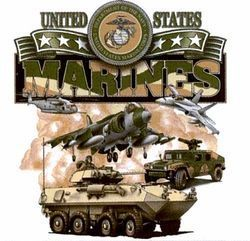 Wholesale Military Marines T Shirts