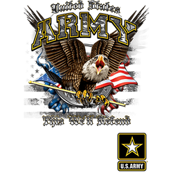 Army T Shirts Bulk Suppliers - 19921D1 Army Eagle