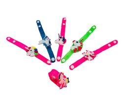 Party Toys Wholesale Merchandise Suppliers - Party Supplies - Kids Toys Games - TY652. Light Up Silicone Unicorn Bracelet