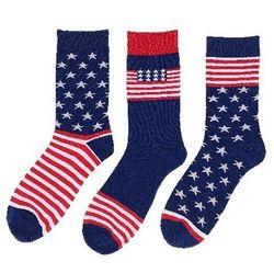 Wholesale Patriotic Red White Blue Socks Clothing Suppliers Apparel Online - MSC Distributors