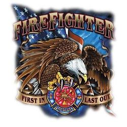 Firefighter T Shirts - A9527D