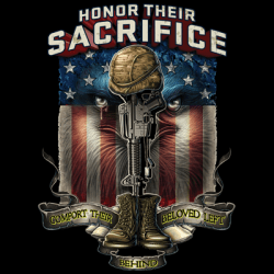 Honor Their Sacrifice T Shirts - MSC Distributors