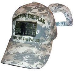 Wholesale Military Stand for the Flag Camo Apparel Hats Bulk Suppliers - MSC Distributors