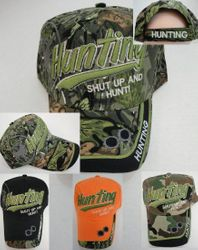 Wholesale Hunting Clothes - Hunting Wholesalers - HT768. HUNTING Ball Cap--Shut Up and Hunt