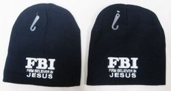 Firm Beliver in Jesus Beanie Hats - WIN813