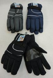 MSC Distributors : Cheap Bulk Winter Gloves and Hats - WN129. Mens Snow Gloves [Solid Color