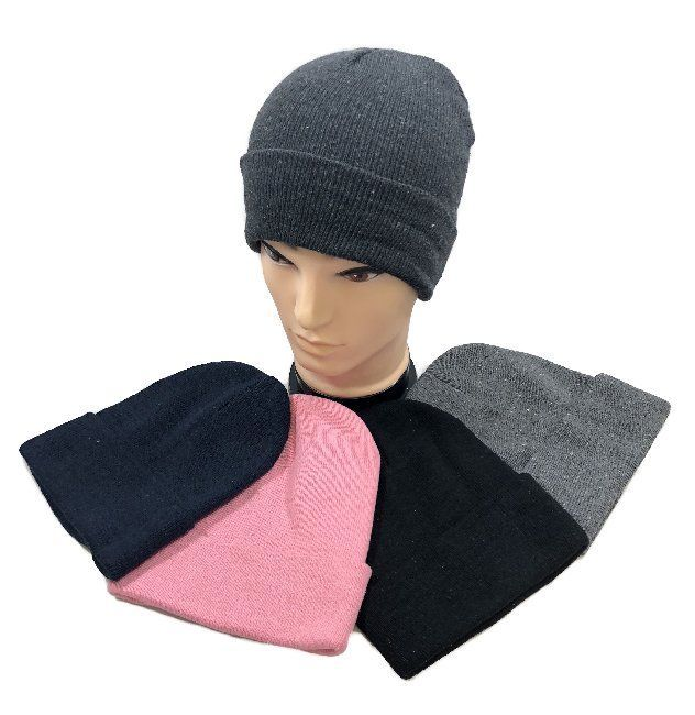 07a6682d13ce66 Women's Novelty Beanies Knit Hats - WN32. Winter Toboggan--Solid Color