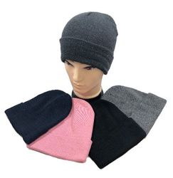 Women's Novelty Beanies Knit Hats - WN32. Winter Toboggan--Solid Color