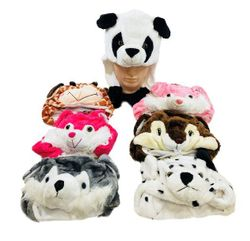 Party Toys Wholesale Toy Merchandise Suppliers - WN5630. Plush Animal Hats with Flapping Ears [Short]