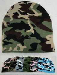 Hunting WN644. Camo Beanie [4 Colors]