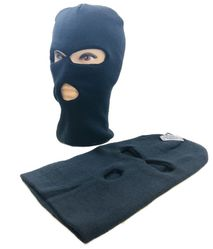 Wholesale Winter Gloves Clothes - Winter Gloves Hats Caps - WN947. Ski Mask [TriHole] Black Only