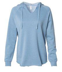 Wholesale Sweatshirts Suppliers - Women's California Wave Wash Hooded Pullover $33.00