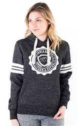 Women's Wholesale Clothing Boutique Supplier Hooded Sweatshirt - 4200N-FH-926-Blk-1