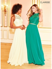 A-line Two Piece Dress 3427 | 10 Colors!