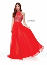 Clarisse Dress 3750 Gems & Chiffion | 2 Colors | Prom 2019