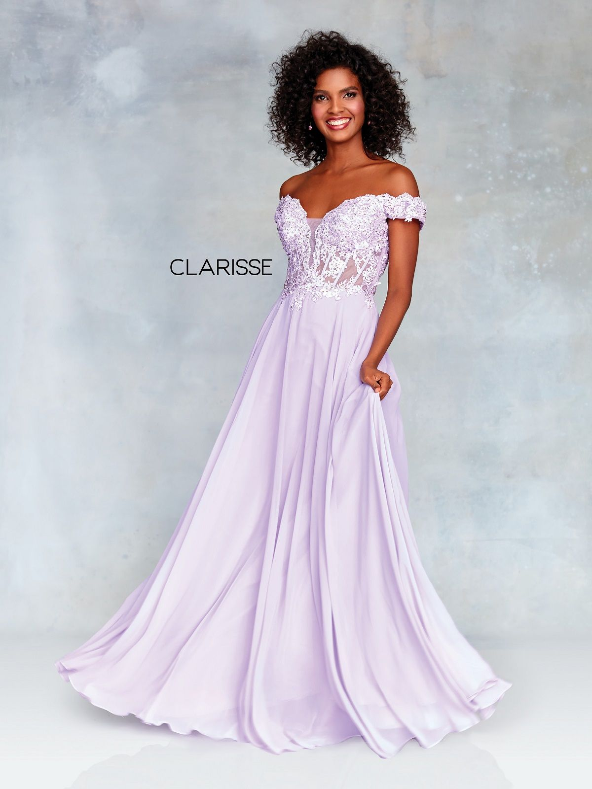 Clarisse Dress 3774 Lace and Chiffon Ball Gown | 5 Colors ...