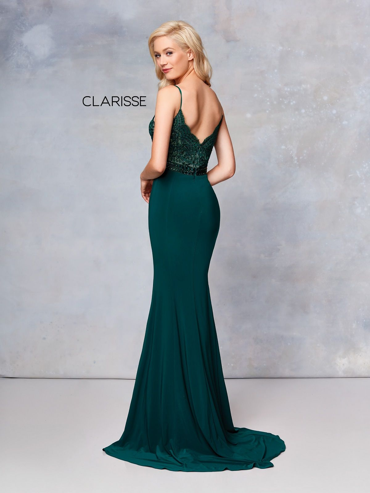 dd3f392d90b Clarisse Dress 3805 Sexy Lace Evening Gown