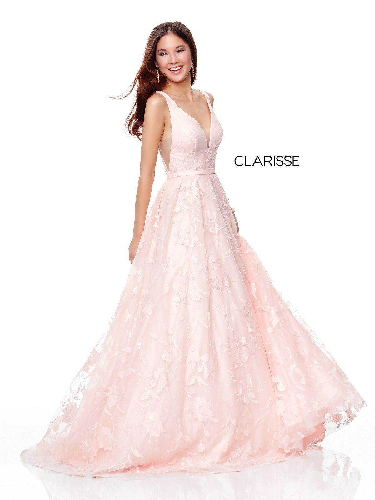 fc5164803b0 Clarisse Dress 3876 Embroidered Ball Gown