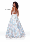 Clarisse Dress 3700 Powder Blue Floral Gown | Prom 2019