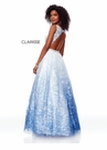 Clarisse Dress 3701 Floral Ombre Gown | Prom 2019