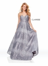Clarisse Dress 3714 Pewter Sequined Prom Dress | Prom 2019