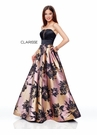 Clarisse Dress 3718 Strapless Sunset Prom Dress | Prom 2019