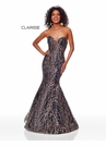 Clarisse Dress 3719 Black & Gold Glitter Prom Dress | Prom 2019