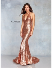 Clarisse Dress 3721 Glamorous Sequined Prom Dress | 3 Colors | Prom 2019