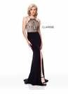 Clarisse Dress 3723 Art Deco Inspired Fitted Prom Gown | Prom 2019