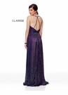 Clarisse Dress 3727 Magenta Flowy Prom Gown Prom 2019
