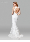 Clarisse Dress 600121 Floral Lace Off White Gown | White Collection 2019