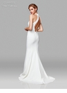 Clarisse Dress 600137 Simple Halter Dress | White Collection 2019