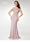Clarisse Atelier M6517 Floral Lace Fitted Evening Gown |2 Colors